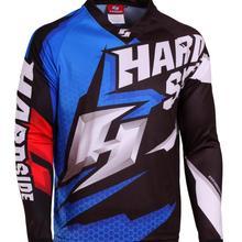 Новое поступление, гоночная футболка для мотокросса mx dh, для спуска по горным дорогам, с длинным рукавом, Джерси mtb