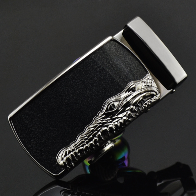 New Selling Personality Fashion Buckle Men's Belt Buckle Alloy Automatic Buckle Head LY125-1100 Men Automatic Belt Buckle