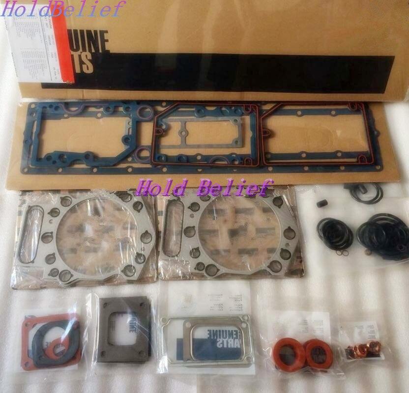 K19 KTA19 Complete O/H Engine Upper Gasket Kit 3801005