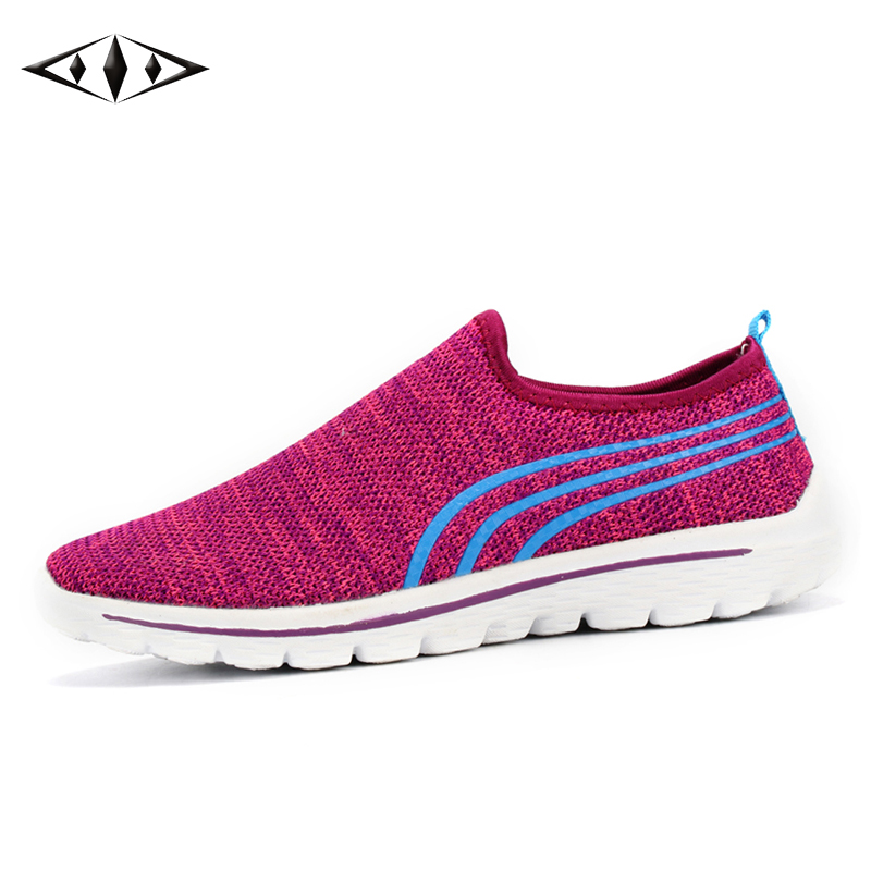 LEMAI New Arrival Women Sneakers Summer Autumn Athletic Outdoor Sport Breathable Air Mesh Light Running Shoes FB015