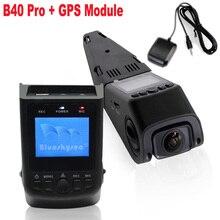 El Envío Gratuito! Blueskysea GPS + B40 PRO Condensador Versión A118C Novatek 96650 H.264 HD 1080 P Tablero de Coches Cámara DVR