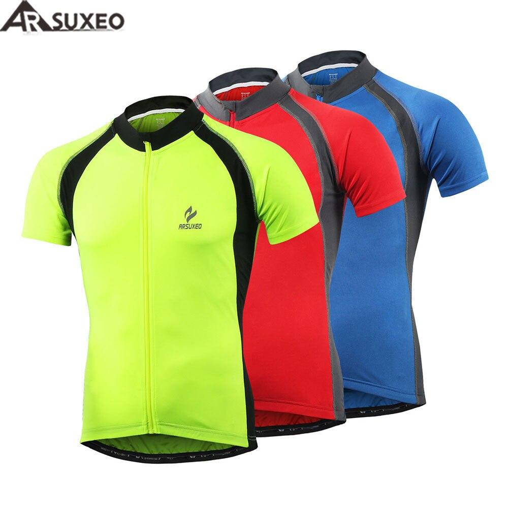 ARSUXEO Cycling Jacket Men women Long Sleeve Shirt Jersey MTB Bike Sports