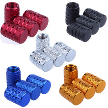 4Pcs Bike Wheel Tire Covered Car Motorcycle Truck universal Tube Tyre Bicycle AV SV American AIR Valve Cap Dustproof 10 colors(China)