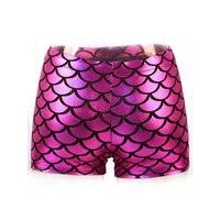 Sexy Quần Lót của Phụ Nữ Vinyl Da Kim Shiny Boxer Shorts Lingerie Khiêu Dâm Tube Vũ Mặc Thân Mật Sản Phẩm cho Phụ N