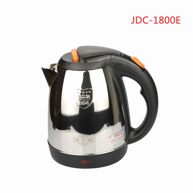 1800E 1.8L Home appliance Household SUS304 Electric Kettle With Auto-Off Function Quick Heat Water Heating Kettle 1500W 220V Appliances