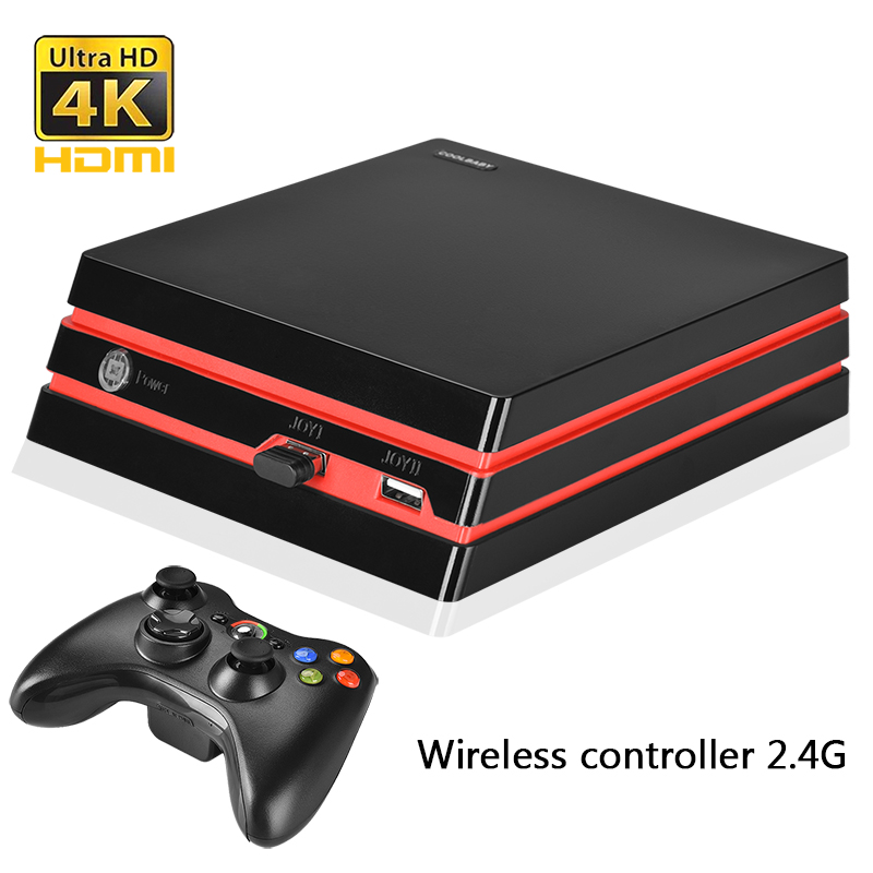 2018 Newest Video Game Console 64 Bit HDMI/AV output Support 4K Output Retro Classic built-in 600 games for Family Video console image