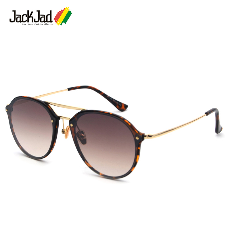 Fashion NDG SUN Style Rectangle Sunglasses Unisex Vintage Rivets Brand Design