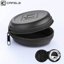 CAFELE Mini Bag Case for Earphone Earbud Portable Hard Storage Box Organizer Airpods USB Cable Memory Card Adapter