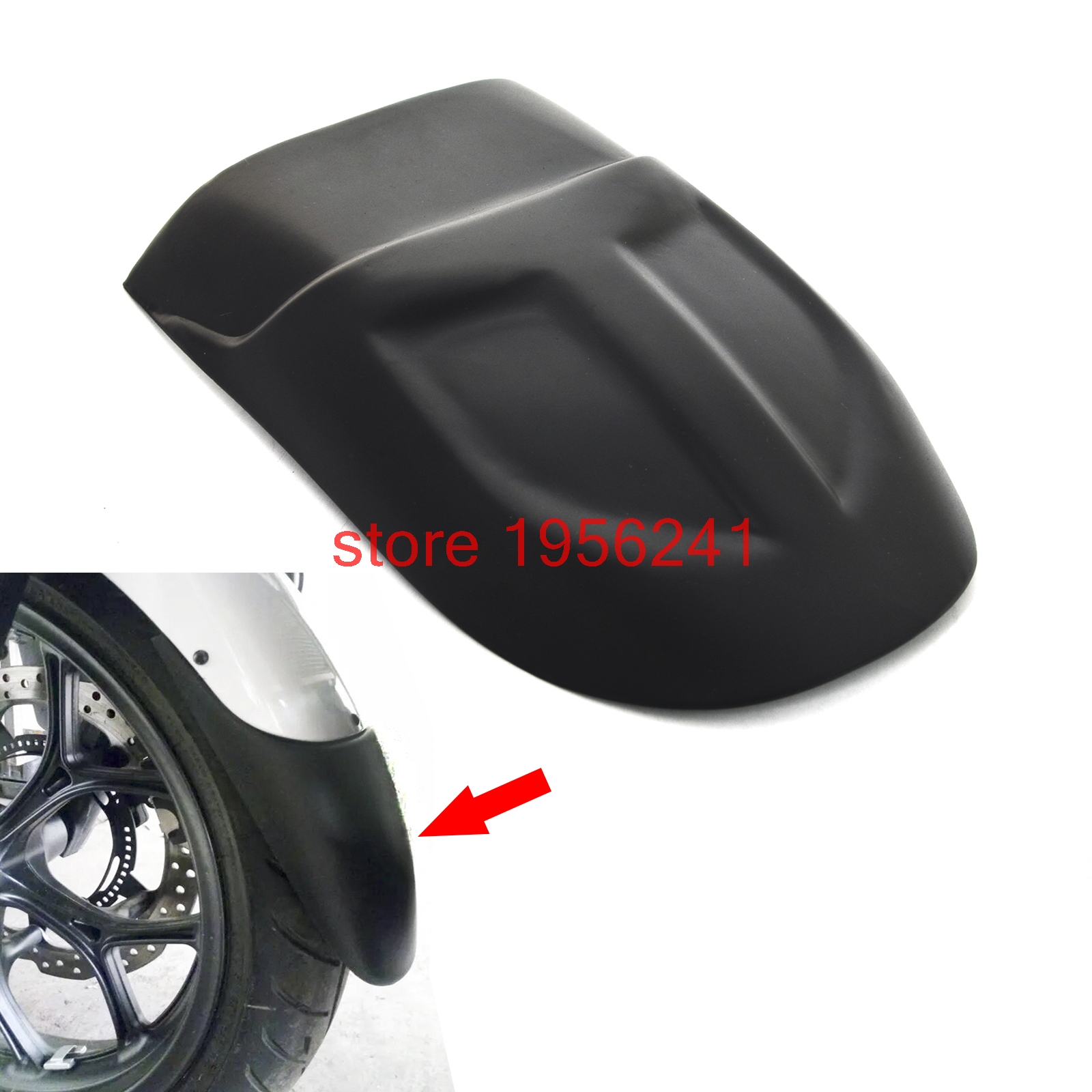 Motorcycle Front fender Extension Extender for BMW F700GS 2012 - 2015 2013 2014 F700 GS motorcycle front fender extension extender for honda crf1000l 2016 2017