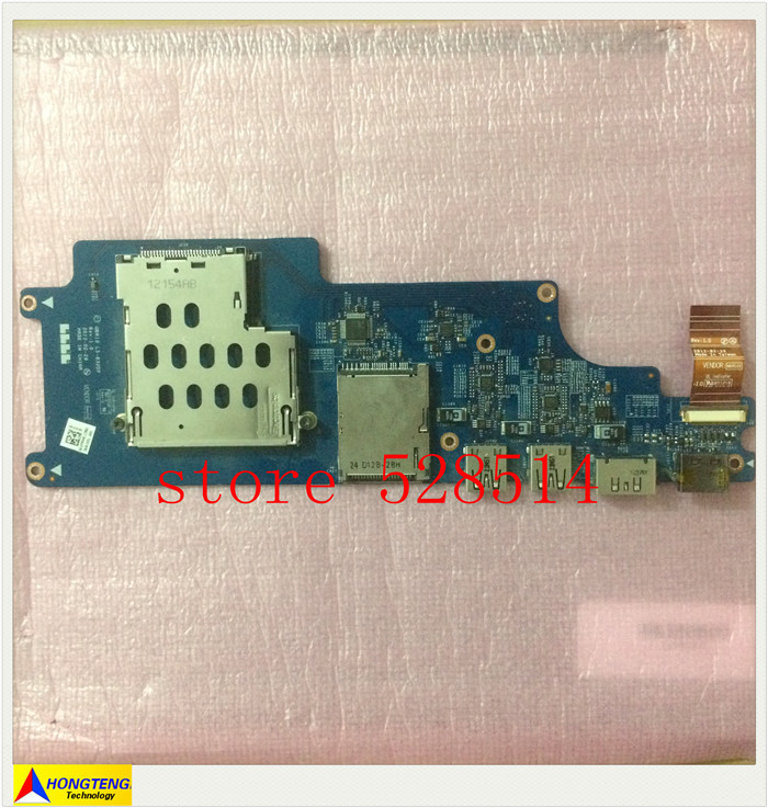 FOR DELL Alienware M18X M18X R2 LS-832DP USB SD CARD Reader board 100% tested OK