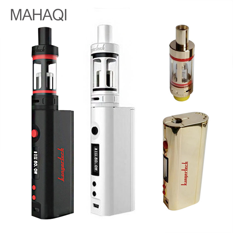 ФОТО 2017 NEW MAHAQI Subox Mini E-ciagrette Box Mod With Atomizer SUBTANK Full Kit Mini Box Mod Vape Electronic Cigarette 50W Subox