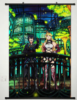 Game Endless Legend Home Decor Japanese Poster Wall Scroll Cosplay 005