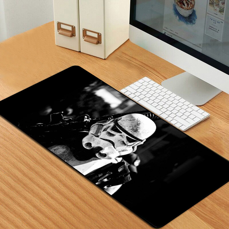 Star Wars Mouse Pad Gamer Sovawin 80x30cm XL Mouse Mat Gaming Mouse Pad Computer Large Mousepad Rubber Locking Edge For PC Cs Go