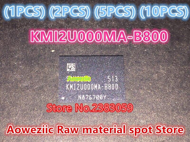 все цены на  (1PCS) (2PCS) (5PCS) (10PCS)  100% new original  KMI2U000MA-B800  BGA  Memory chip   KMI2U000MA B800  онлайн