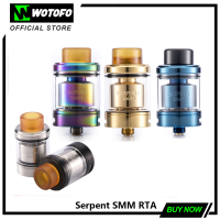 Wotofo Serpent SMM RTA Electronic Cigarette Atomizer 4ml Vape Tank 510 Thread 24mm Diameter Designed by Suck My Mod WOTOFO