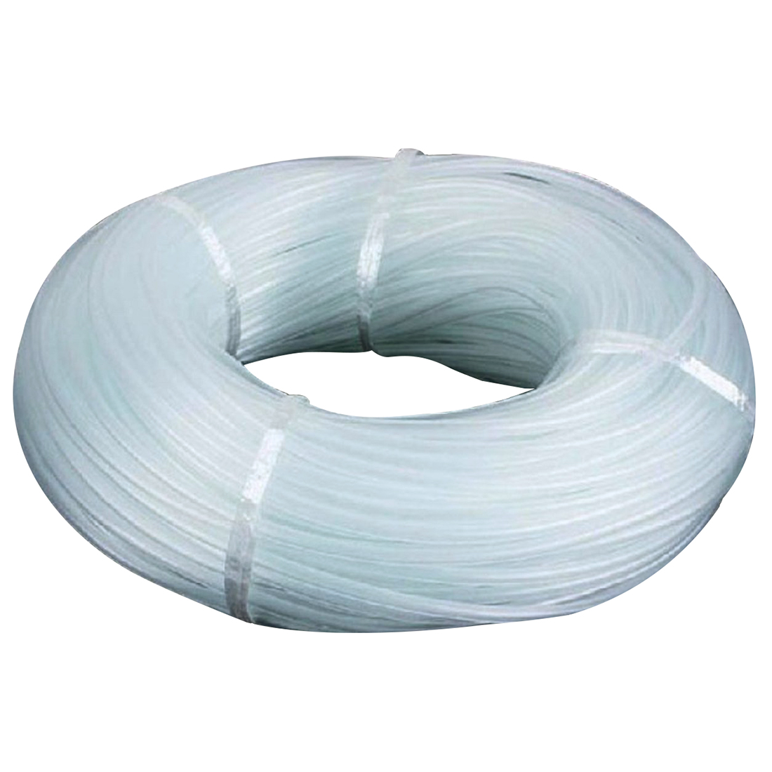AIMA 4 * 6 mm Oxygen Pump Hose for Air Bubble Stone r Aquarium Fishbowl Pond Pump White