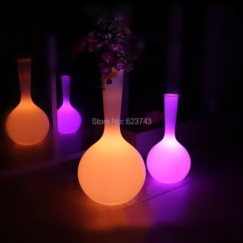 LED Floor Lamp Color Changing Flower Pot (5)