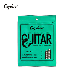 Image 3 - free shipping 10 pcs orphee guitar strings RX15 RX17 RX19 electric guitar strings super light