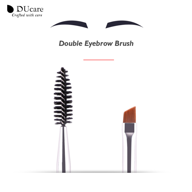 DUcare Brushes for Makeup Eyebrow Brush+Eyebrow Comb Spoolie Brush eyebrow makeup brushes beauty essentials blending eye