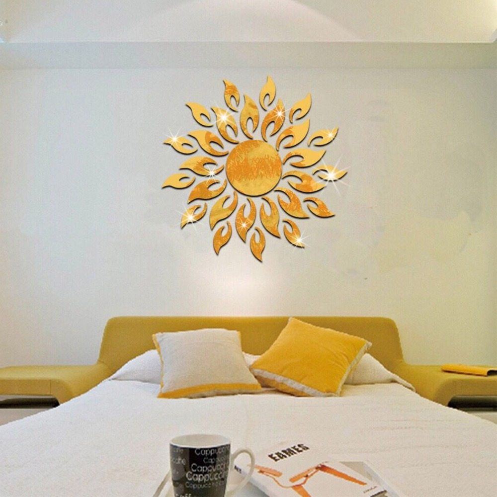 Perfect Sun Mirror Wall Decor Gallery - Wall Art Collections ...