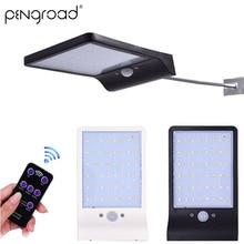 Wireless Telecontrolled Solar LED Lamp 48 PIR Motion Sensor Street Light Outdoor Waterproof Home Garden Lighting PD010