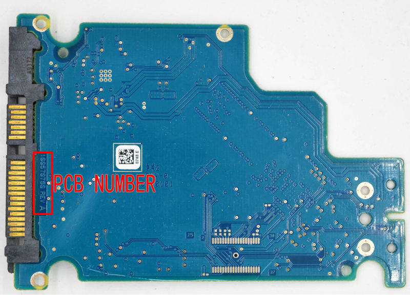 HDD PCB FOR SEAGAT/Logic Board/Board Number: 100570750