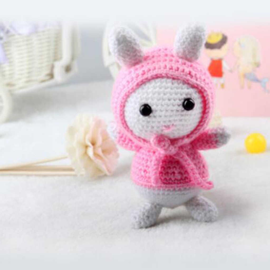 Fityle el yapımı DIY köpek bebek oyuncak tığ kiti Amigurumi kiti ... | 1024x1024