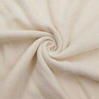 Free Shipping 3 Meter Organic Hemp Raw Material For Diaper Insert Booster Wholesale Hemp Fabric For
