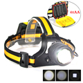SOS Whistle BORUiT Headlamp 1500Lumen 4Modes Zoomable Headlight ,Memory Switch ,New Arrival