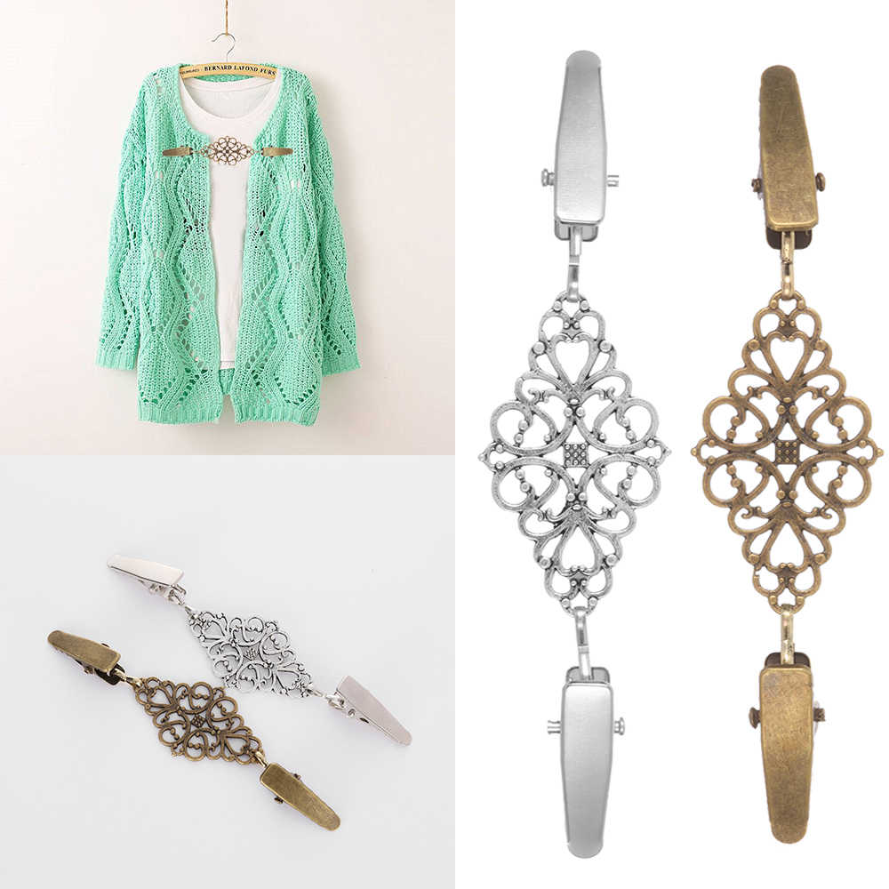 Модный зимний шарф, застежка, очаровательные аксессуары, женский кардиган, свитер, блузка, булавка для шали клипсы для броши, рубашка, воротник, ретро, утка, зажим