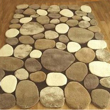 Ikea Simple Modern Carpet 120x170cm Coffee Stone Rugs For Living Room Acrylic Hand Made And