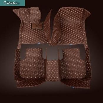 Tonlinker 3D Car Mats&carpet of floor for Volkswagen series Polo Passat CC Jetta Golf Tiguan ect all weather Floor mat carpets