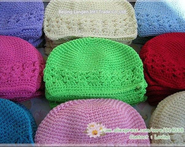 Много цветов экспорт евро Средний размер 12,5-15*16 см. 10 шт/партия шапки-Куфи