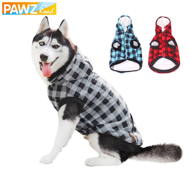 Classic Large Dog Jacket with Removable Hoodie
