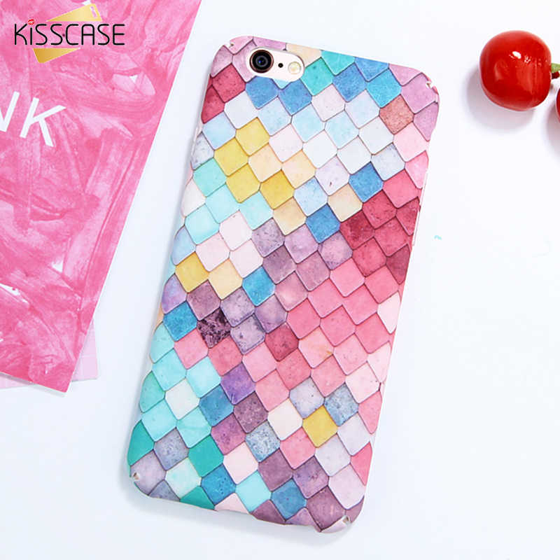 KISSCASE 3D funda de sirena para iphone 7 8 6 Plus funda de móvil para iphone X XS Max XR buena funda de la suerte para iphone 7 plus