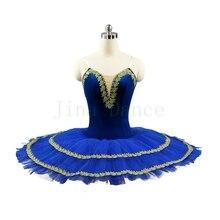 Pre-professional ballet tutu Royal blue child kids girls pancake patter tutu adult women ballerina party ballet mujer costumes