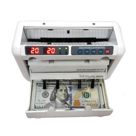 Apropriado para o Dólar dos Eua do Euro Máquina de Contagem de Dinheiro Compatível da Multi-moeda do Contador de Bill Contador do Dinheiro de 110v Etc. – 220v Ok1000