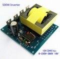 500 W Inversor Transformador Placa de Impulso módulo De Alimentação DC 12 V PARA AC 220 V 380 V Carro Conversor