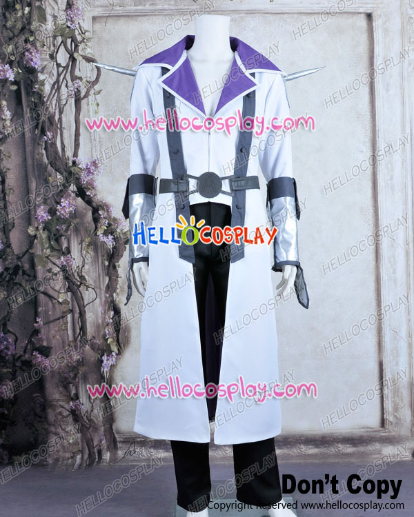 Costume de Cosplay Jack uniforme blanc Atlas H008