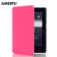 Protecting Cowl for Amazon Kindle Voyage 6inch 6″ Pill eBook eReader Flip PU Leather-based Case