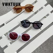 VWKTUUN Sunglasses Women Vintage Oversized Driving Shades Round Sunglass Retro Womens UV400 Eyewear Colorful Glasses