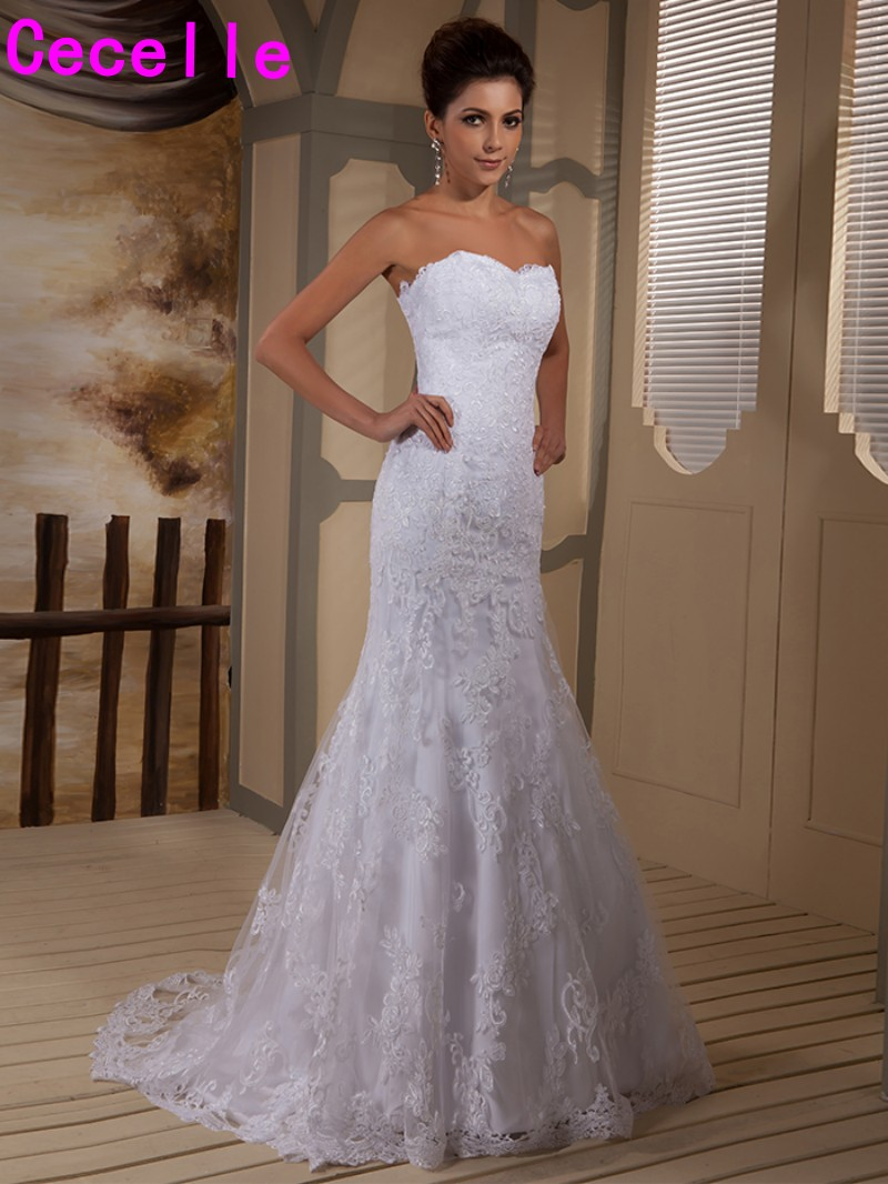Compare Prices On Mermaid Wedding Dresses Lace Online Shopping