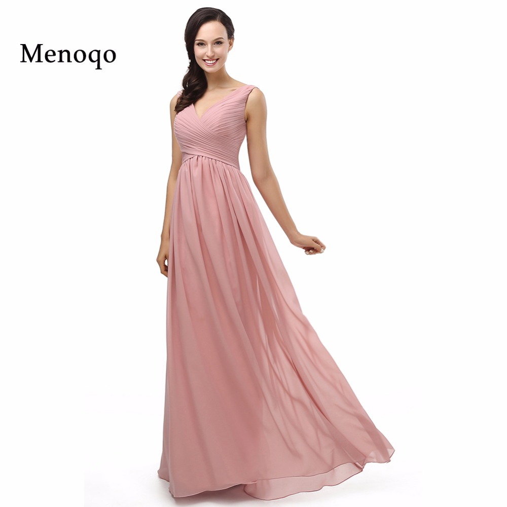 Cheap Pastel colors Prom Dresses To Wedding Party Long A Line ...
