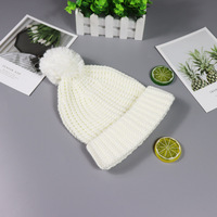 Children cap autumn and winter lovely baby boy and girl knit cap
