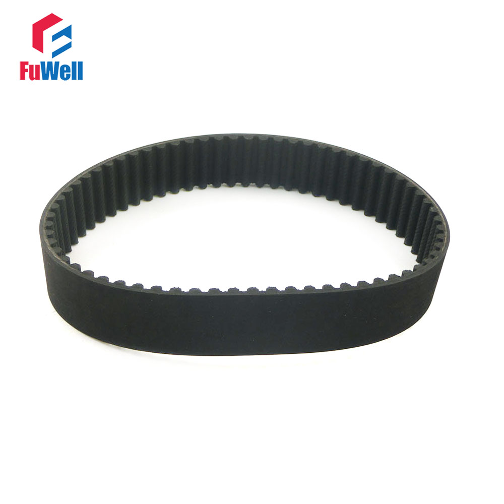HTD5M 615/625/630/635/640/645/650/655/670/690/695-5M Timing Pulley Belt 15/20/25mm Width 5mm Pitch Black Rubber Belt lupulley htd5m timing belt synchronous drive rubber belt 170 175 180 200 220 225 5m 15 20 25mm width teeth pitch 5mm 2pcs