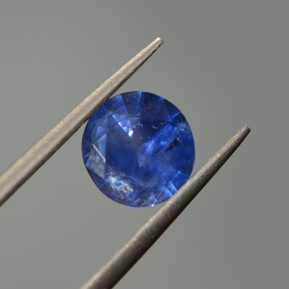 PGTL certification 1.60ct Natural Sri Lanka Origin Heated Royal Blue Sapphire Stone Loose Gemstones natural sri lanka sapphire bracelet high clarity of gemstones full scintillation the main stone is 5a sapphire