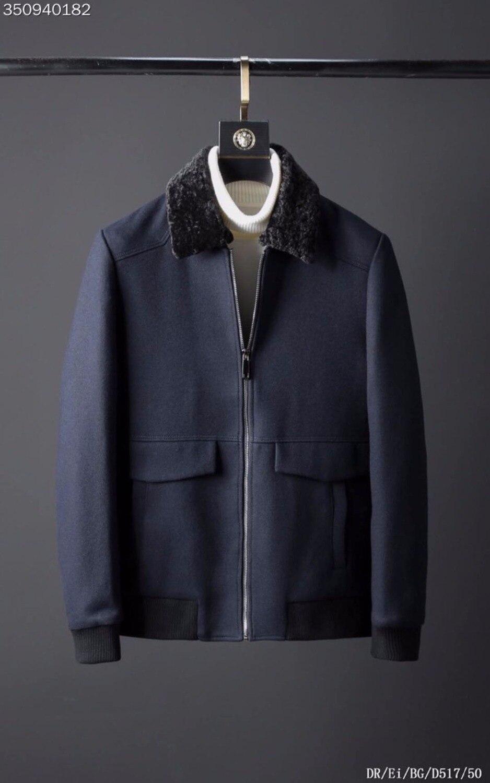 Modo Lusso Abbigliamento Design Da Degli Giubbotti E Cappotti Di Marca a  Uomo Stile We101006bf Del ... 72d89bab1c71
