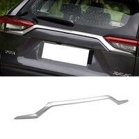 Аксессуары для автомобиля ABS хромированный внешней отделки Задняя Крышка багажника стример отделка задних фонарей для Toyota RAV4 2019 2020