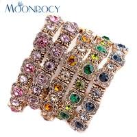 Free Shipping Fashion Wholesale Jewelry Austrian Crystal Bracelet Green Blue Pink Bracelet For Girls Women Gift
