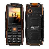Vkworld Pietra Nuovo V3 Rugged Quotidiana Impermeabile telefono Shockproof IP68 Torcia Banca Di Potere 2.4